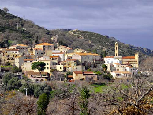 Photos du village de Lavatoggio en Corse