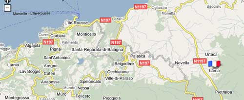 Carte Corse Urtaca.Photos Lama Images De Lama Haute Corse 20218