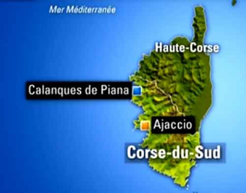 Carte Corse Calanque De Piana.Les Calanques De Piana Photos Calanche En Corse Du Sud