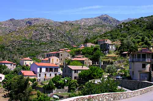 Carte Corse Urtaca.Photo Urtaca Photos Images Du Village De Urtaca Corse